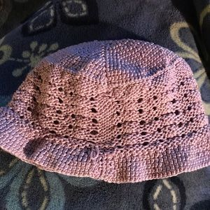 Lilac Crocheted